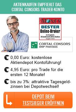 Cortal Consors Depotwechsel