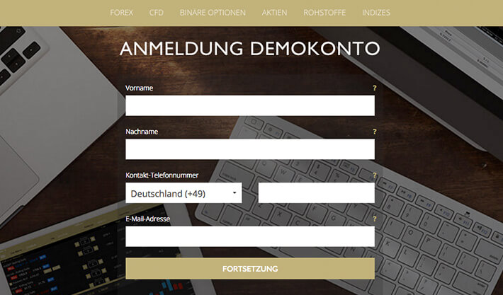 ETX Demokonto