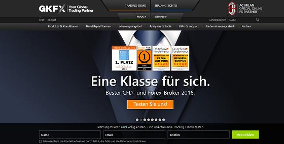 GKFX CFD Testsieger
