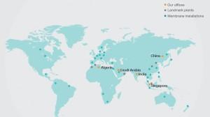 Die regionalen Aktivitäten von Hyflux