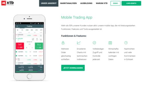 XTB App MetaTrader 4
