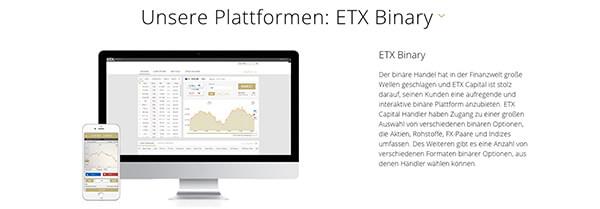 ETX Binary