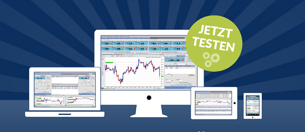Der FlatTrader als hauseigene Trading-Anwendung bei FXFlat