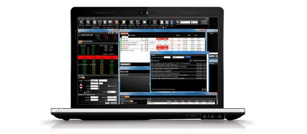 """So sieht die """"L2 Dealer""""-Plattform bei IG Markets aus"""