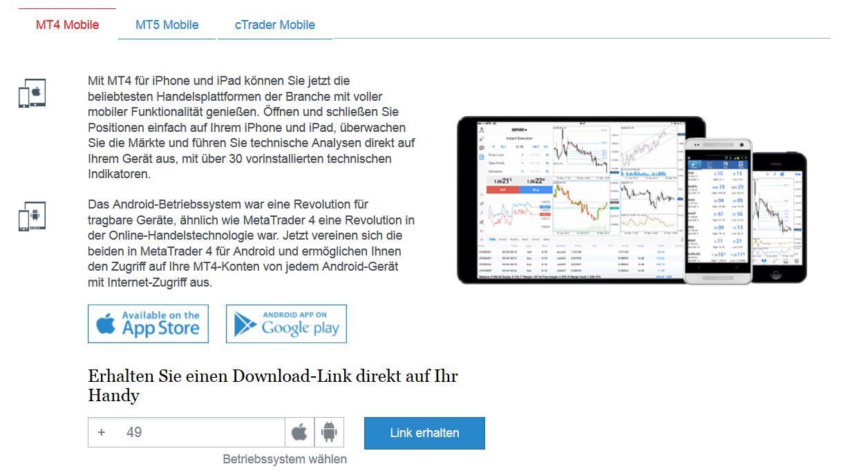 FXPro überzeugt durch zahlreiche Möglichkeiten für den mobilen Handel
