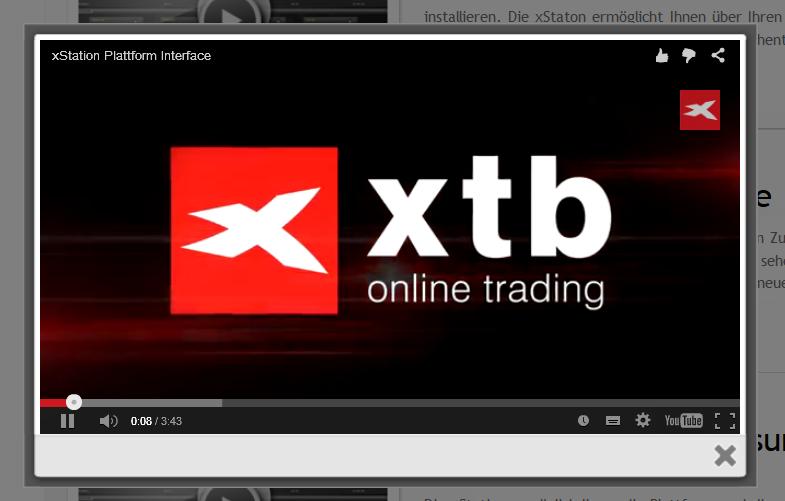 Kunden können Einführungsvideos zur Nutzung der xStation ansehen