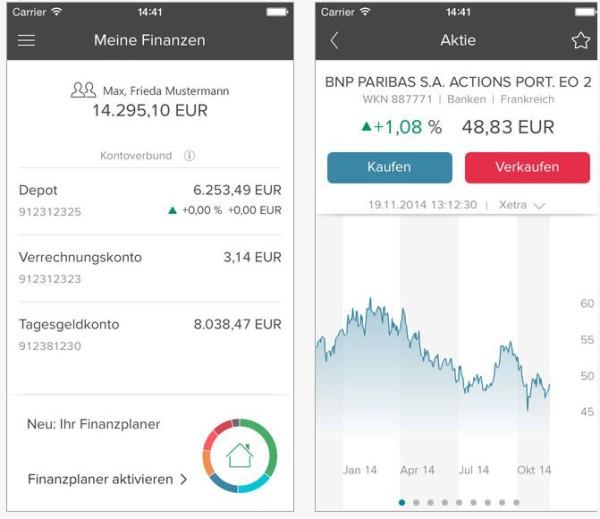 Die Consorsbank App