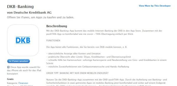 Die App im App Store