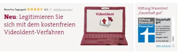Mit VideoIdent-Verfahren legitimieren lassen