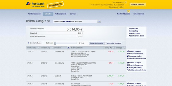 Postbank Girokonto Erfahrungen & Meinungen: Der Test