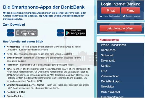 App der DenizBank (Wien) AG