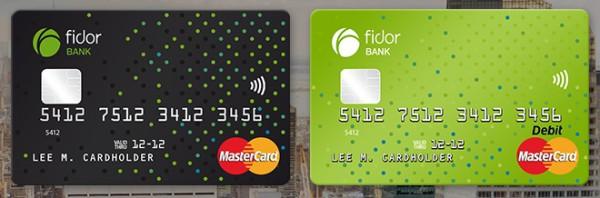 Fidor Bank – die MasterCard