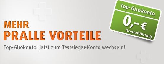 Norisbank Girokonto zum 0-Tarif