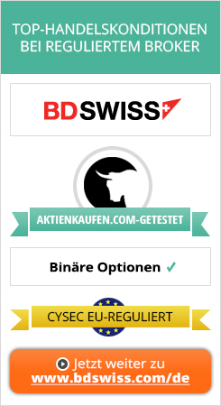 BDSwiss One Touch-Modell