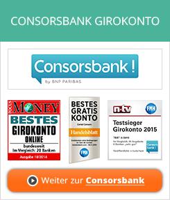 Consorsbank Girokonto Erfahrungen von Aktienkaufen.com