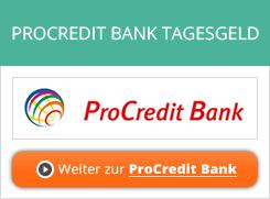 ProCredit Bank Tagesgeld Erfahrungen von Aktienkaufen.com