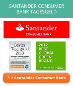 Santander Consumer Bank Tagesgeld Erfahrungen