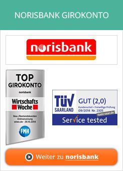 Norisbank Girokonto Erfahrungen von Aktienkaufen.com