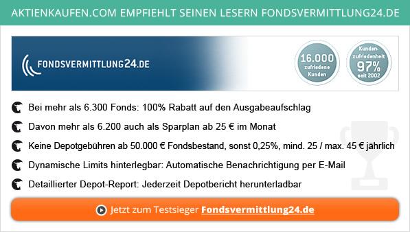 Geschlossenen Fonds-Vergleich auf Aktienkaufen.com