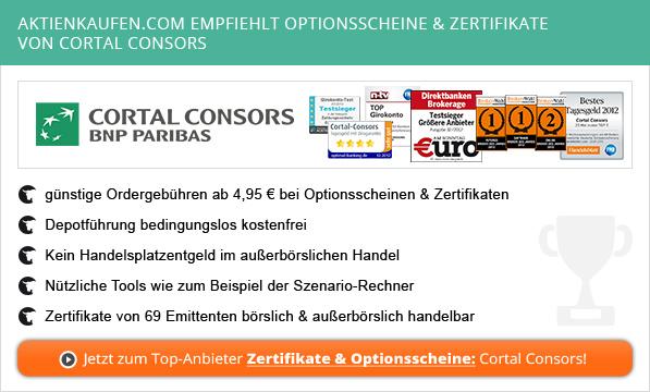 zum Anbieter Cortal Consors