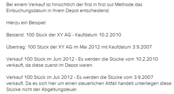 FAQs von flatex