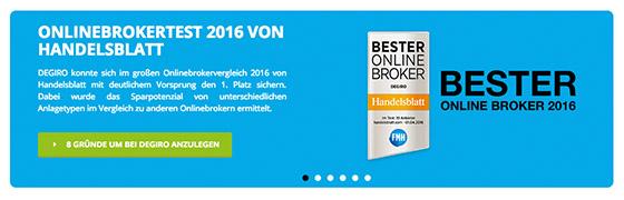 DEGIRO als bester Online Broker 2018