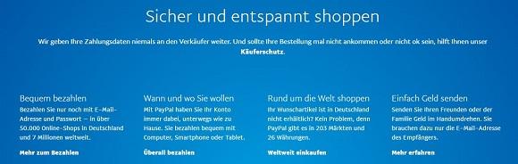 Kundensicherheit PayPal