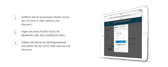 PayPal sicher & einfach