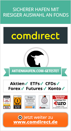 Comdirect ETF Sparplan