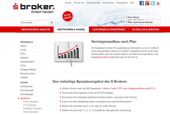 sBroker Wertpapiere & Handel
