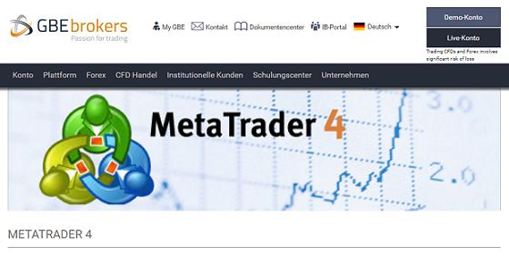 GBE Brokers MT4