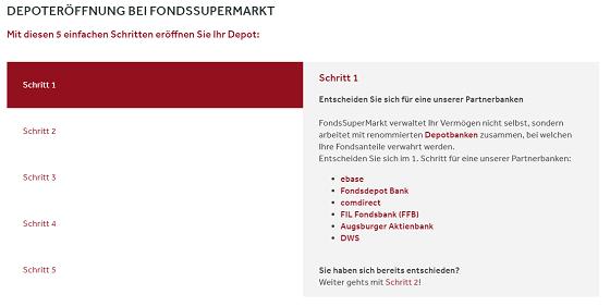 FondsSuperMarkt Depot