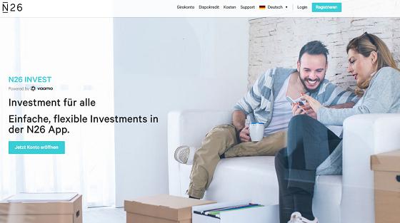 N26 Invest App