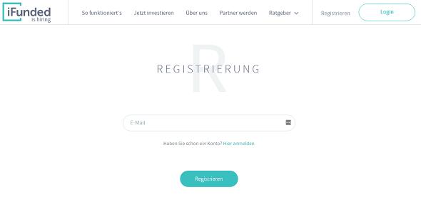iFunded Registrierung