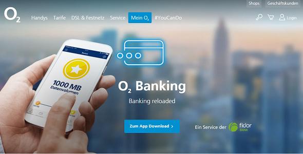 o2 Banking Girokonto