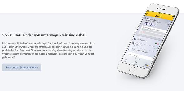 Postbank Girokonto App