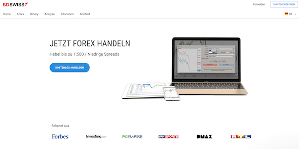 BDSwiss Forexhandel