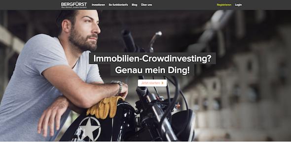 BERGFÜRST Webseite