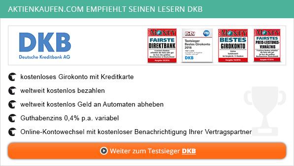 Girokonto Vergleich bei aktienkaufen.com