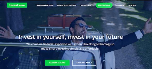 invest.com Website