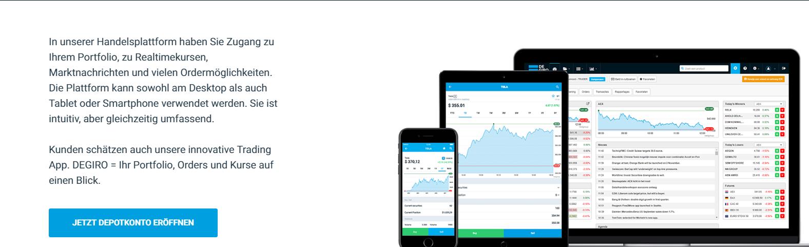 degiro broker app
