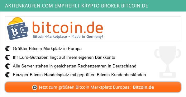 Krypto Börsen Vergleich von Aktienkaufen.com