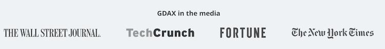 GDAX Presse