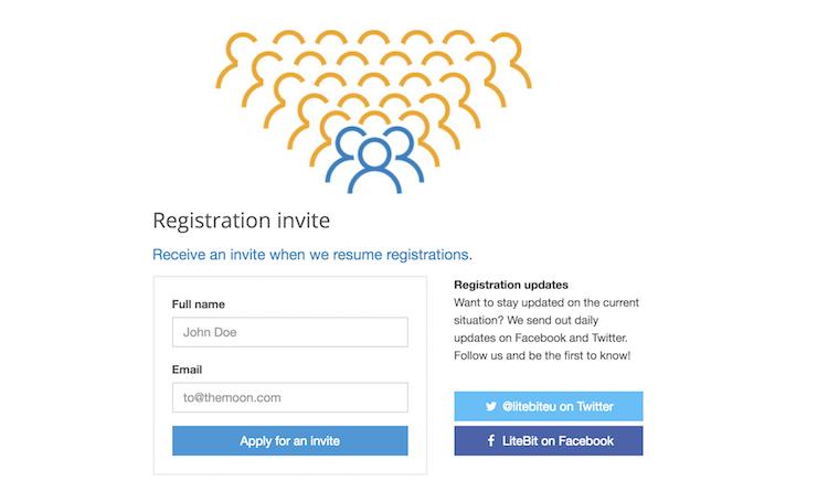 LiteBit.eu Kontoeröffnung
