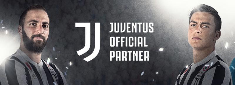 24option Juventus Turin Sponsoring