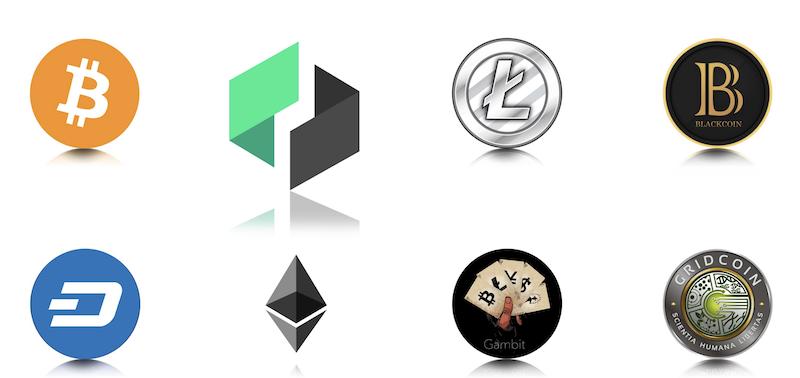 Bittrex handelbare Kryptowährungen