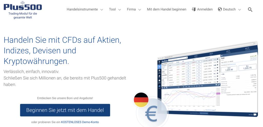 Klassischer Optionshandel - auch beim CFD-Broker Plus500 möglich