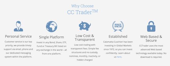 ccTrader Vorteile