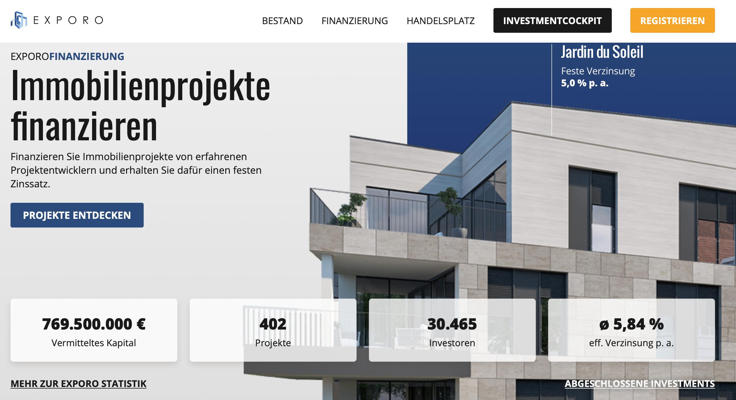 Exporo Immobilien