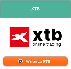 XTB Aktien Handelsplattform
